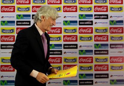Pékerman entregará la lista de convocados a la prensa el viernes en Bogotá.