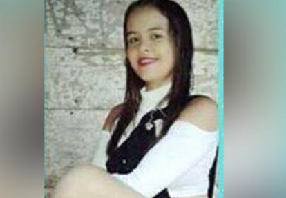 Angie Paola López, asesinada.