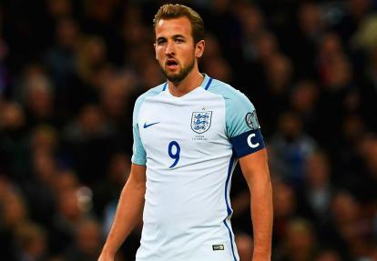 Harry Kane, delantero inglés.