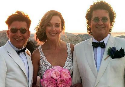 Franklin Ramos, Claudia Elena Vásquez y Carlos Vives.