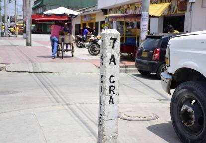 Bulevar de Simón Bolívar, una de las zonas afectadas por 'Los 40 Negritos'.