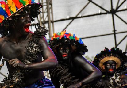 El grupo Ritmos Tropicales realizó una muestra de son de negro.