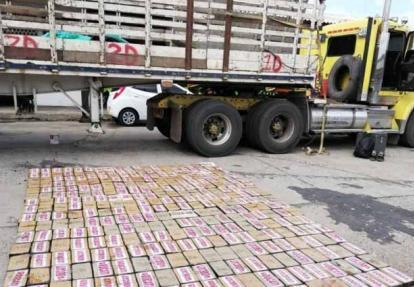 872 kilos de cocaína fueron incautados el pasado mes de enero en dos mulas entre Maicao y el Cabo de la Vela.