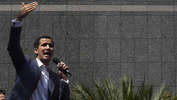 El presidente de Venezuela reconocido por más de 50 países, Juan Guaidó.