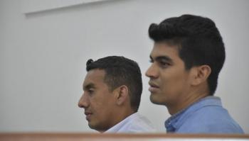 Alejandro Rafael Hernández Vidal y Chahee Abauu Hernández.