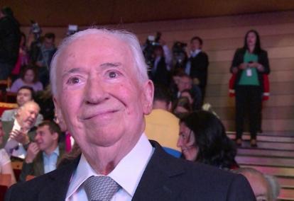 Belisario Betancur, expresidente.