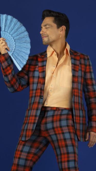 Karoll Márquez, actor y cantante cartagenero.