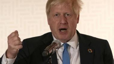 Boris Johnson matizado