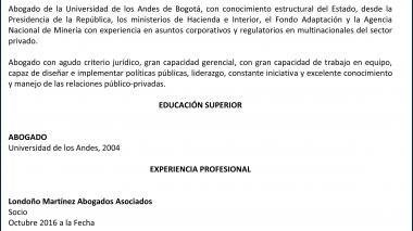 Candidatos junta directiva de Triple A   Juan Alberto Londoño Martínez