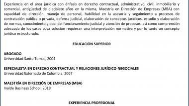 Candidatos junta directiva de Triple A   Mauricio Solórzano Arenas