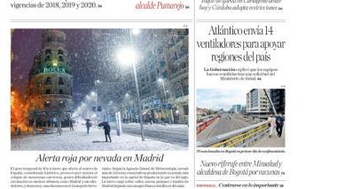 """""""Se intensifican controles en el Atlántico por Puente de Reyes"""""""
