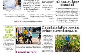 """""""Barranquilla garantiza aplicación equitativa de vacunas Covid"""""""