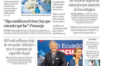 Detectan mayor carga viral en los pacientes del Atlántico