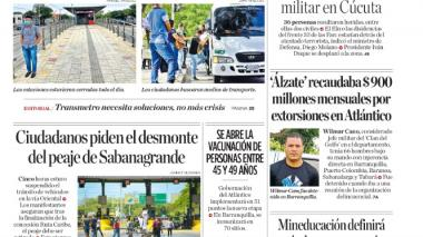 Barranquilla vivió una jornada sin Transmetro