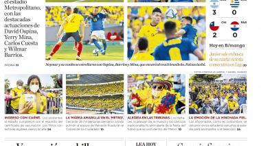 Colombia batalla y sigue sumando