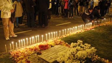 Familiares y amigos de Luis Andrés Colmenares conmemoraron tres años de su extraña muerte.