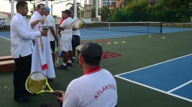 Liga de Tenis del Atlántico pone al servicio dos canchas
