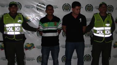 Capturan a dos individuos señalados de hurto de vehículo en el barrio Las Mercedes Sur