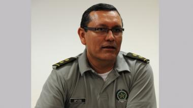 Comandante de la Policía, general José Vicente Segura.