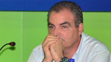 Ministro de Interior, Aurelio Iragorri.