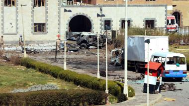 59 muertos por ataque al Ministerio yemení de Defensa