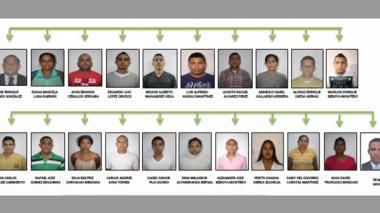 """Policía desmantela banda delincuencial autodenominada """"Los Pepes"""""""