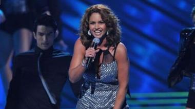Lucero, cantante y actriz mexicana.