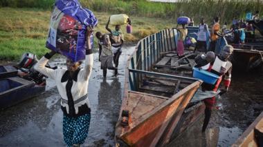 200 ahogados al huir de combates en Sudán del Sur