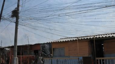 Energía Social suspende servicio a barrio de  Galapa por incumplimiento de contrato