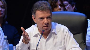 No hay valor más importante que la paz: Santos