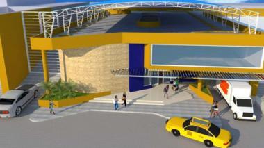 Así quedará el edificio de tres pisos construido por el Distrito en la calle 32 No 40-49.