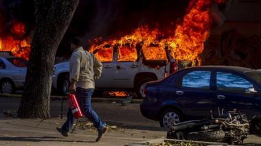 Confirman en Venezuela 3 muertos, 66 heridos graves y 69 detenidos en marchas