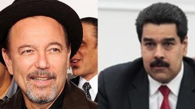 Rubén Blades y Nicolás Maduro.