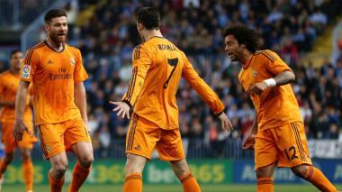 Real Madrid venció al Málaga y continúa de líder en la liga española