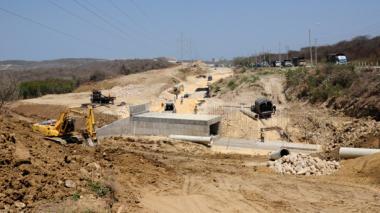 La ejecución de la obra avanza a buen ritmo, según Distrito.