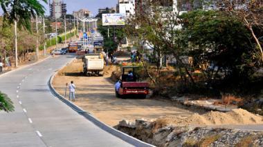 Alcaldía Distrital garantiza reposición forestal en obras de la carrera 51B
