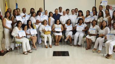Docentes del Atlántico clausuran diplomado en educación religiosa