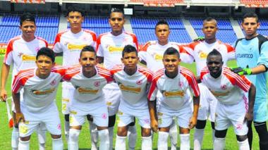 Selección Atlántico prejuvenil de fútbol.