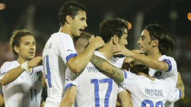Italia regresa al camino  del triunfo
