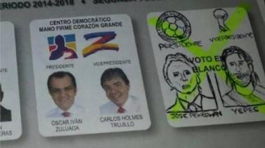 """Electores """"votaron"""" por Pékerman a la presidencia"""