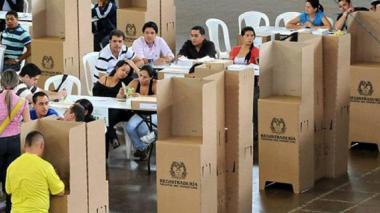 Distrito, preparado para jornada electoral