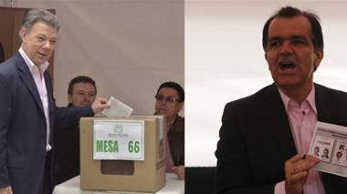 El próximo presidente de Colombia ya votó