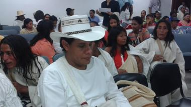 """""""El perdón no devuelve vidas"""": indígenas"""