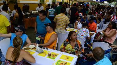 Una calle llena de sabor en Barranquilla