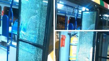 Ruta A5-3 de Transmetro cumple cinco días suspendida por vandalismo