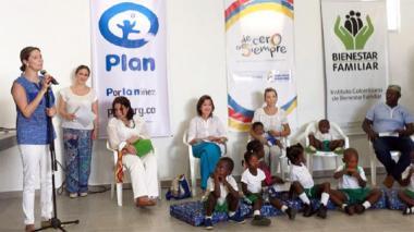 Entregan Centro de Desarrollo para la Infancia en San Basilio de Palenque