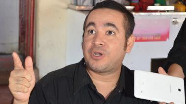 Juan David Díaz Chamorro, hijo de 'Tito' Díaz.