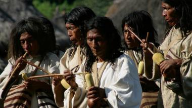 Linajes indígenas colombianos son presentados en Roma