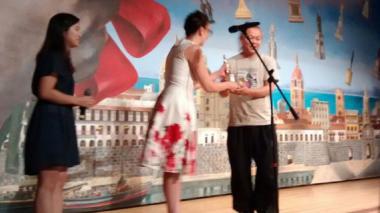 Kim Ki-duk durante su homenaje en Cartagena.