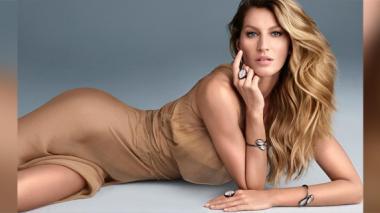 Gisele Bündchen es la modelo mejor pagada del mundo.